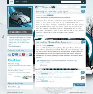 page blog